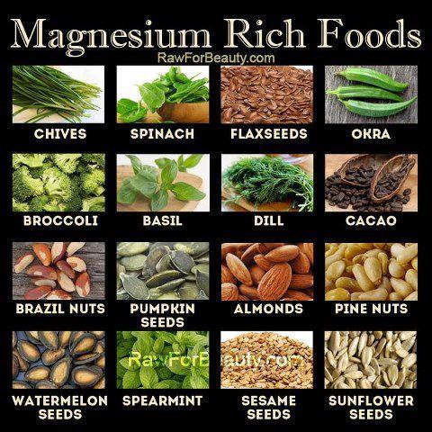 източници на магнезий